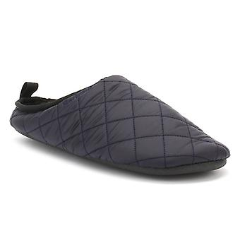 Barbour Mens Navy Guthrie Slippers
