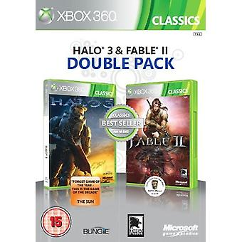 Microsoft Halo 3 og Fable II - Double Pack (Xbox 360)