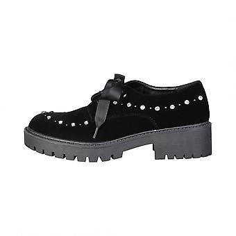 Laura Biagiotti Black cordones zapatos otoño/invierno 2255