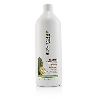 Matrix Biolage 3 Butter Control System Conditioner (For Unruly Hair) 1000ml/33.8oz