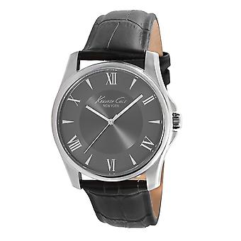 Kenneth Cole New York men's wrist watch analog quartz leather KC1996