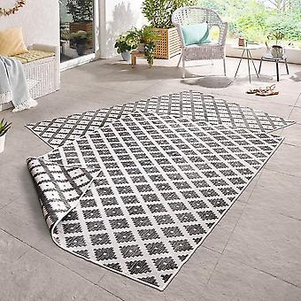 Drejning tæppe flot grå fløde i- & udendørs