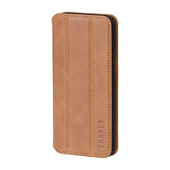 Samsung Galaxy S8 + (plus) Full Protection Tan Leather Case