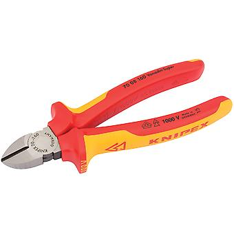 Knipex 31926 160mm VDE Fully Insulated Diagonal Side Cutters