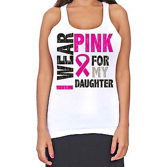 Juniorer Dri Fit jeg bære Pink For min datter Breast Cancer støtte T-Back Tank Top