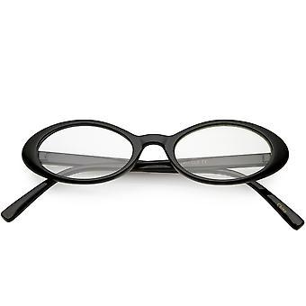 مسح الأسلحة الصغيرة النسائية نظارات بيضاوية ضئيلة عدسة 48 مم