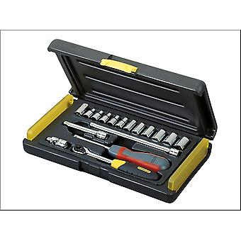 Stanley 2-85-582 Microtough Socket Set 17 Piece 1/4In Drive