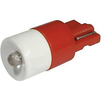CML LED bulb W2.1x9.5d Red 24 Vdc, 24 V AC 330 mcd 1511 B35 UR3