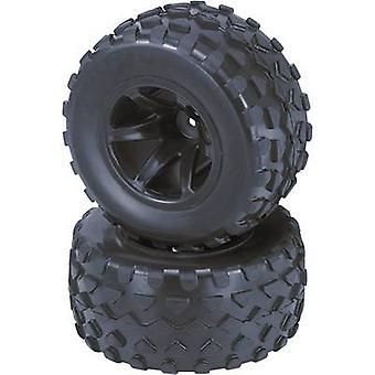 Reely 1:10 Truggy Wheels Rhombo 6-spoke