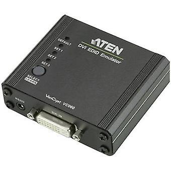 Adaptador de DVI ATEN [1 x zócalo de DVI 29-pin - 1 x zócalo de DVI 29-pin] negro
