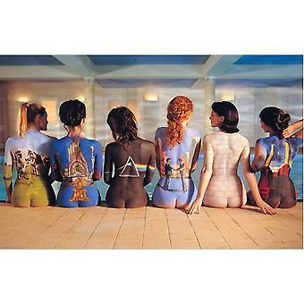 Pink Floyd Back Art Vinyl Sticker 125Mm X 100Mm