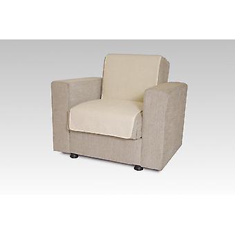 Seat saver wool ecru 150 cm x 50 cm