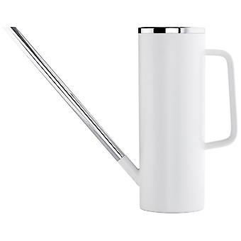 Plástico de Blomus regadera LIMBO blanco 1.5 litros combinado con acero inoxidable