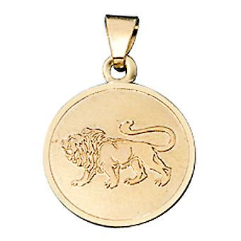 Trailer Zodiac lion gold 333 yellow gold Cupid