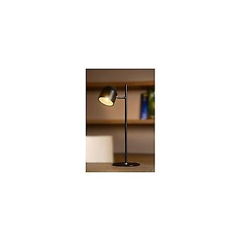 Lucide SKANSKA Quirky Adjustable Black Tall Desk Lamp