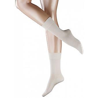Falke gevoelige Londen sokken - crème