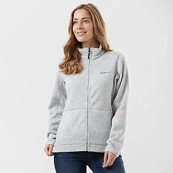 New Brasher Women's Rydal Hiking Casual Full Zip Fleece Grey