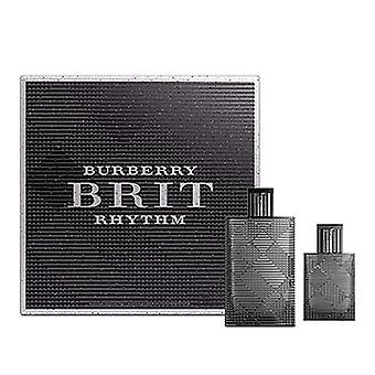 Burberry Brit Rhythm av Burberry för män 2 Piece Set