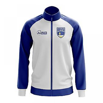 Conceito de Buryatia futebol Track Jacket (branco) - crianças