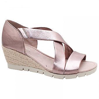 Gabor Lisette Crossover Wedge Sandal