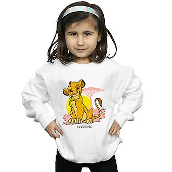 Disney Girls The Lion King Simba Pastel Sweatshirt
