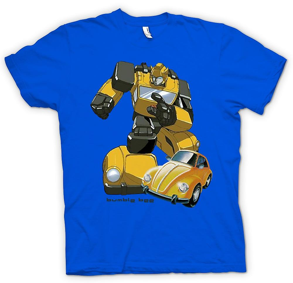 Mens T-shirt-Transformatoren - Bumblebee - Comic