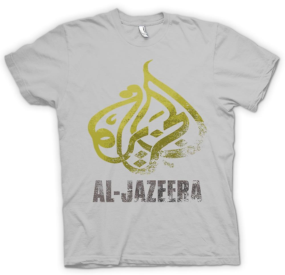 Mens T-shirt - Al Jazeera - Alternative Real News