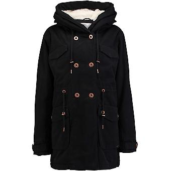 Oneill Black Out Cool Cotton Parka Womens Jacket