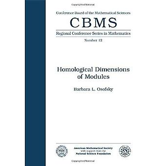 Homological Dimensions of Modules