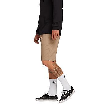 Volcom mannen Stretch broek ~ Frickin moderne Stretch kaki