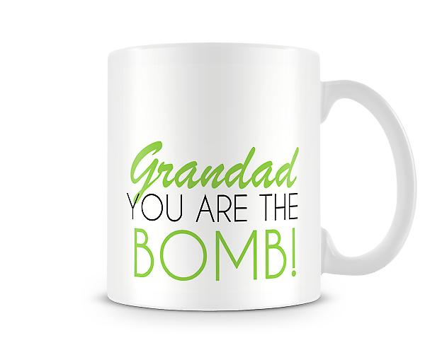 Grandad You Are The Bomb Printed Mug