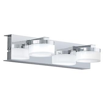 Eglo - Romendo 2 luz LED casa de banho com espelho de parede em EG94652 de acabamento cromado