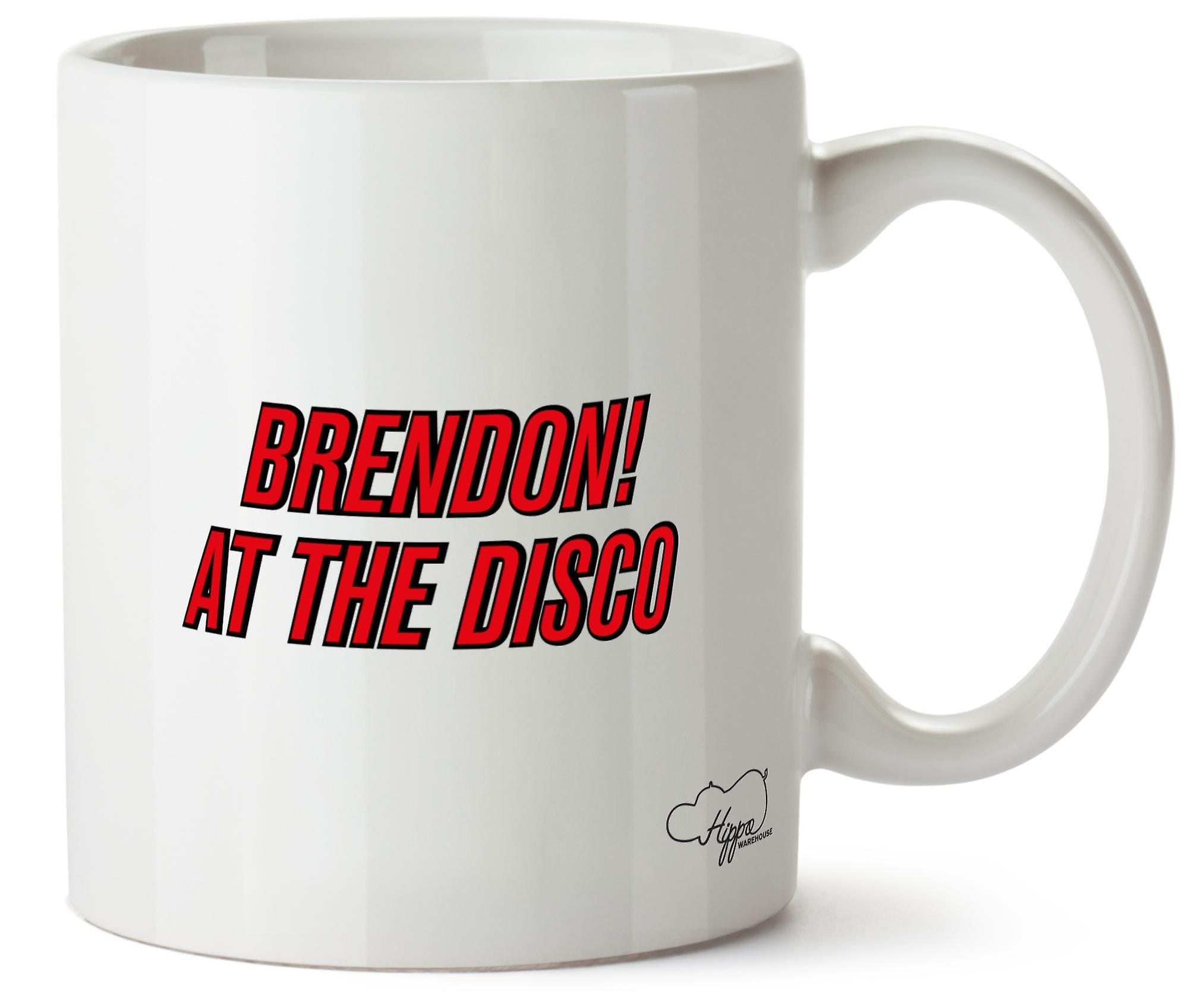 Imprimé Brendon Tasse 10oz Hippowarehouse The Céramique En nbsp;At Disco IvYy6gbf7
