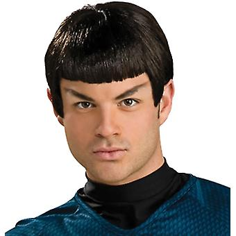 Wig With Ears For Spock Costume