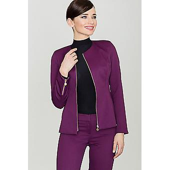Lenitif ladies jacket purple
