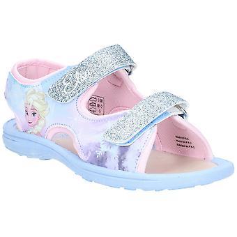 Leomil meisjes bevroren gemakkelijk dragen twee riem verstelbaar sandalen