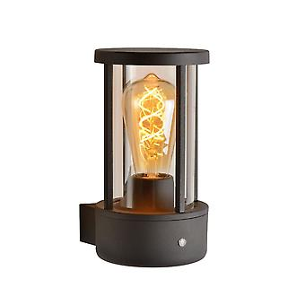Lucide Lori Modern Cylinder Aluminum Anthracite Wall Light