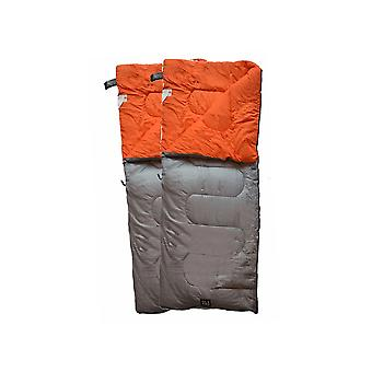 OLPRO HUSH Sleeping Bags Plain Two Sleeping Bags Zipped Together 190 x 150cm