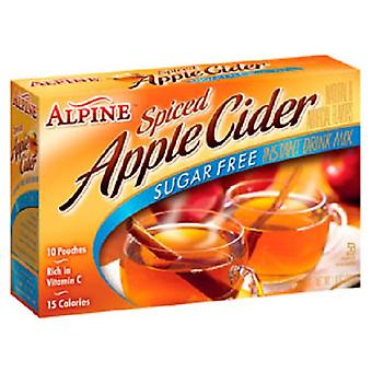 Alpine Sugar Free Spiced Apple Cider Instant Drink Mix