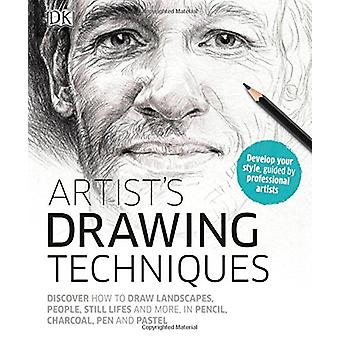 Artist's Drawing Techniques by Georgina Palffy - 9781465461742 Book