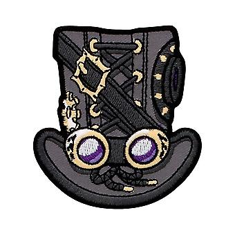 Grindstore Steampunk Top Hat Patch