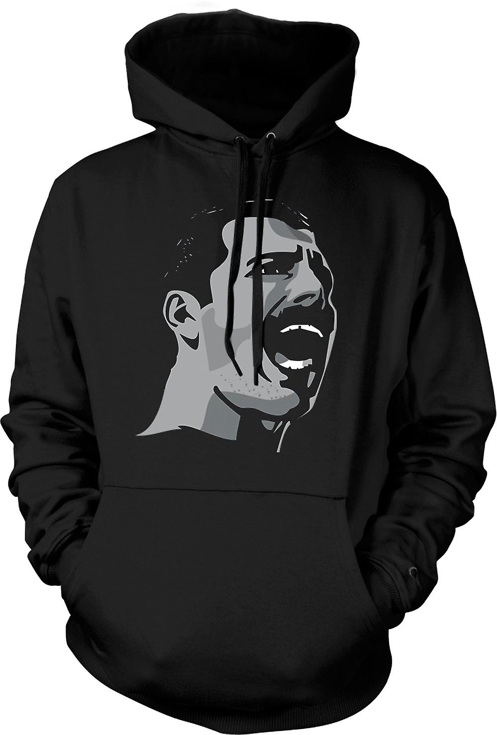 Mens Hoodie - Freddie Mercury Pop Art Portrait