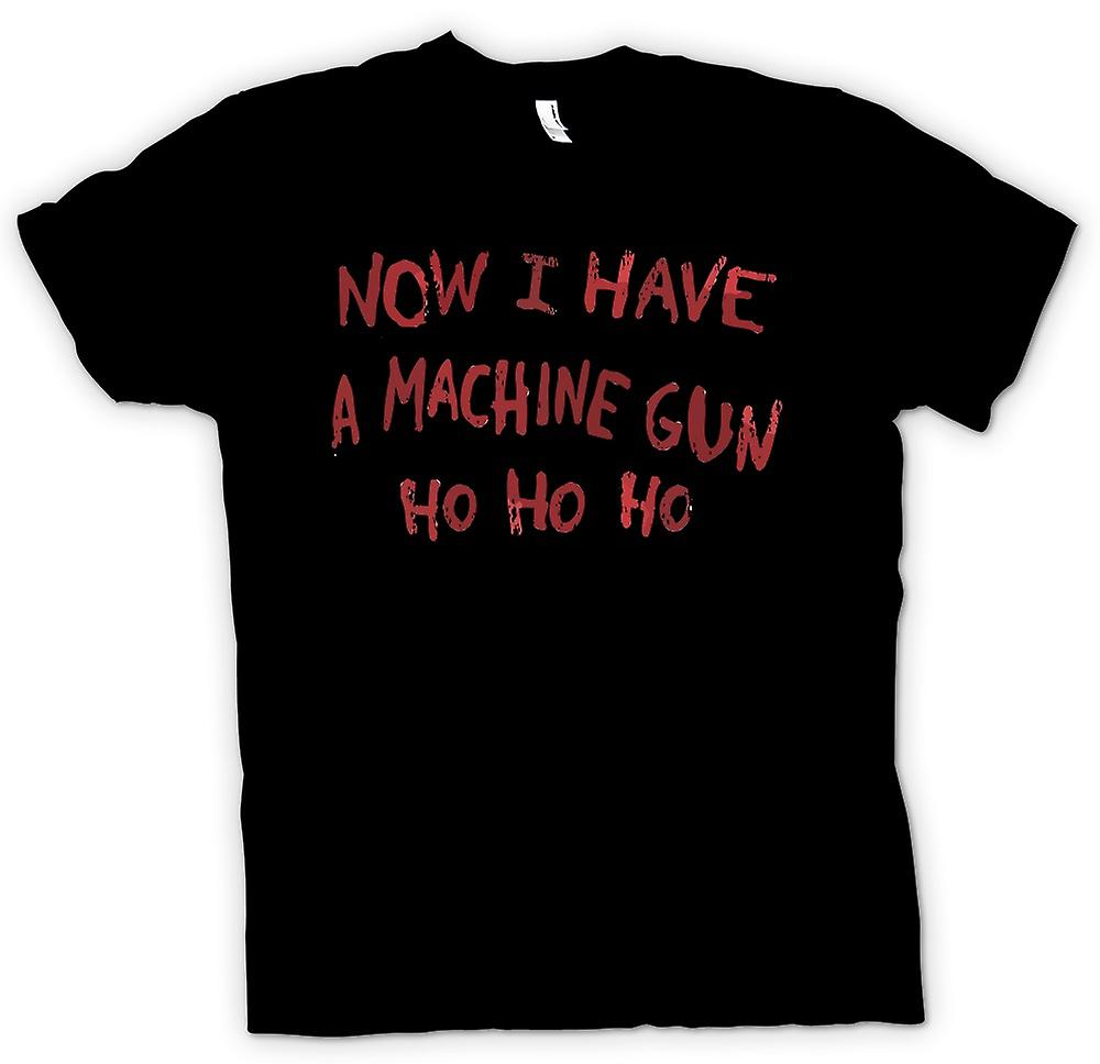 Kids T-shirt - Now I Have A Machine Gun Ho Ho Ho - Die Hard Inspired