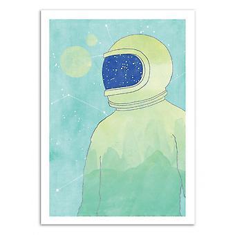 Konst-affisch-Wanderer inom-Tracie Andrews 50 x 70 cm