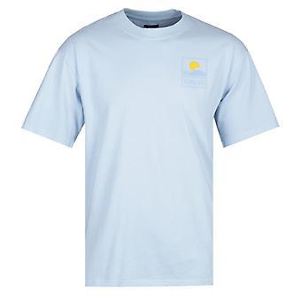 Edwin Sunset On Fuji Sky Blue T-Shirt