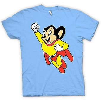 Womens T-shirt - Mighty Mouse - tecknad - Funny