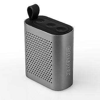 Caseflex Wireless Mini Bluetooth Lautsprecher Gunmetal