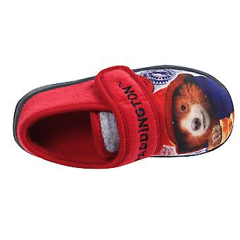 Paddington Bear Boys Olot Low Top Slippers UK Sizes Child 5-10