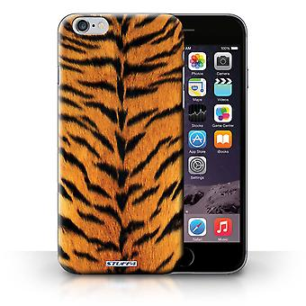 STUFF4 Case/Cover for Apple iPhone 6 Plus/Tiger/Animal Fur Pattern