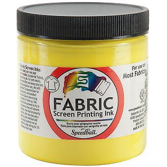 Fabric Screen Printing Ink 8 Ounces Process Yellow Fspi8 45652
